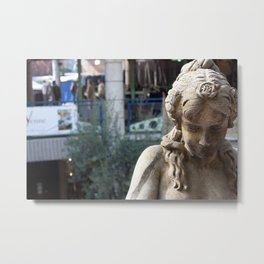 Melancholy at Paris Metal Print