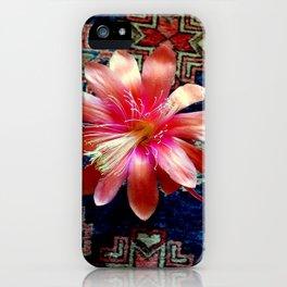 Cactus Flower By Design iPhone Case