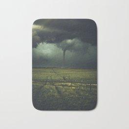 Tornado Coming (Color) Bath Mat