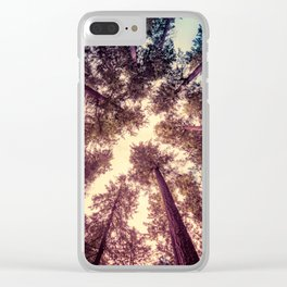 Reaching the Sky Clear iPhone Case