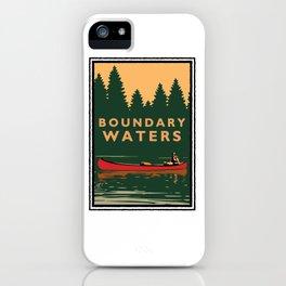 LANDMARK SERIES | MN BOUNDARY WATERS iPhone Case