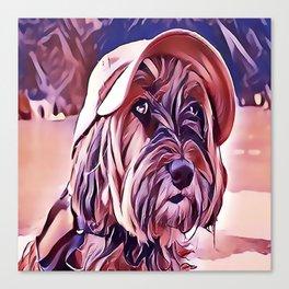The Tibetan Terrier Canvas Print