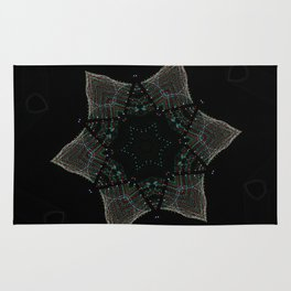 Lights Within a Star Rug