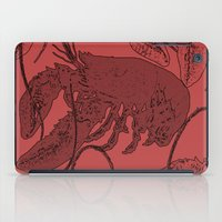lobster iPad Cases featuring lobster by Isabella Asratyan