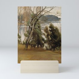 Pekka Halonen - Sallow in Autumn Mini Art Print