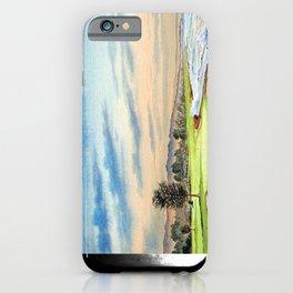 Pebble Beach Golf Course 18th Hole iPhone Case