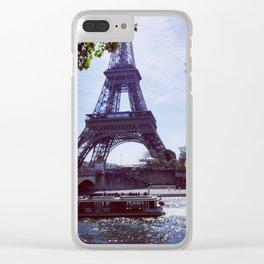 Eiffel tower II Clear iPhone Case