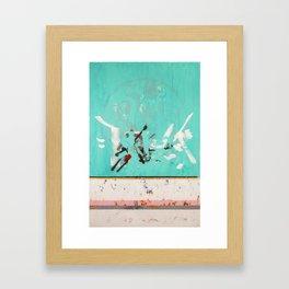 Decree Of Freedom Framed Art Print