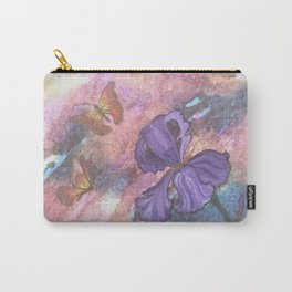 Pastel Monarchs Carry-All Pouch