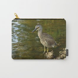 Juvenile Yellow Crowned Night Heron Carry-All Pouch