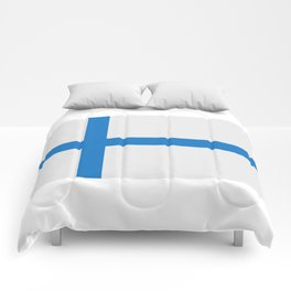 Finland flag Comforters