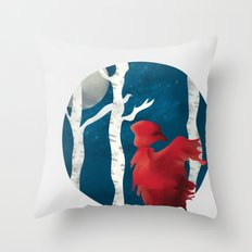 The Name's Red Throw Pillow