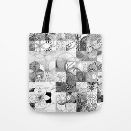 Art In Action Tote Bag