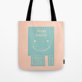 seeking a friend for the end of the world Tote Bag