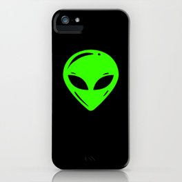 Alien UFO Extraterrestrial Motif iPhone Case