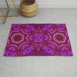 purple mandala Rug