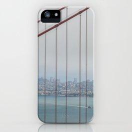 San Francisco Through Golden Gate iPhone Case