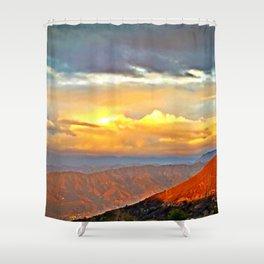 The Sunset Hills Shower Curtain