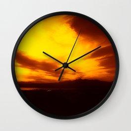 Arizona Haze Wall Clock