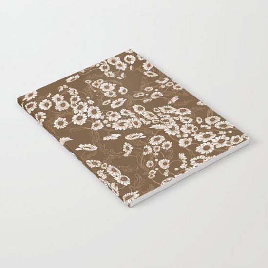 Daisy Dream Sepia Notebook