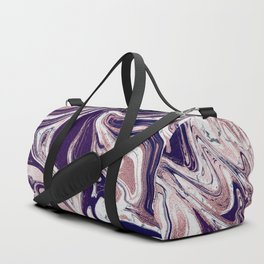 Rose Gold UltraViolet Marble Duffle Bag