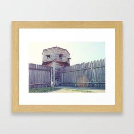 Fort Vancouver Framed Art Print