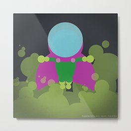 Mysterio in 24 dots Metal Print