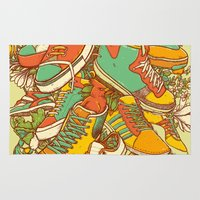 shoe Area & Throw Rugs featuring If the Shoe Fits by Alvaro Arteaga