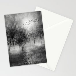 Black and White - Paisaje y color II Stationery Cards