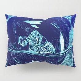 Harmony within the Orca Yin&Yang Pillow Sham
