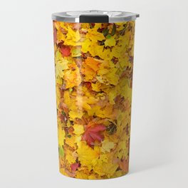Autumn leaves | Nature Photography Travel Mug