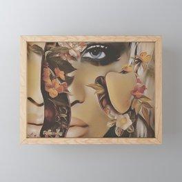 Seed Framed Mini Art Print