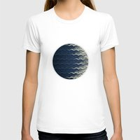 wave T-shirts featuring Wave by thinschi