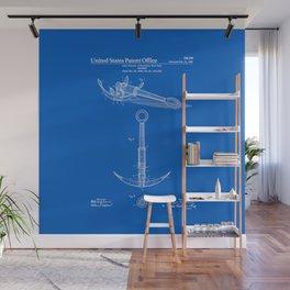 Anchor Patent - Blueprint Wall Mural