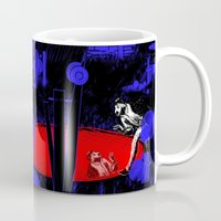 portal Mugs featuring Portal by Spew Jersey