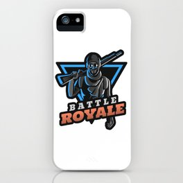 Gaming Champion Last One Standing Wins iPhone Case