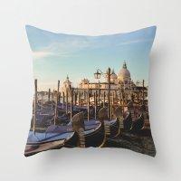venice Throw Pillows featuring Venice by Lorenzo Bini