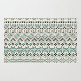 V40 Boho Vintage Anthropologie Pattern Rug