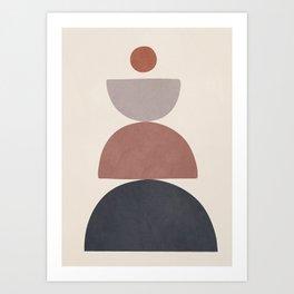 Balancing Elements III Art Print