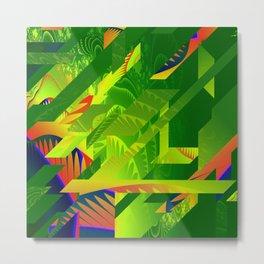 Great Green Frac 1 Metal Print