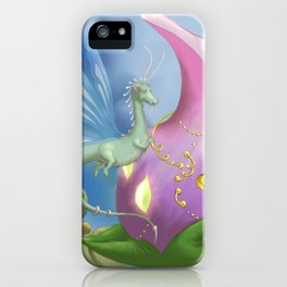 Dragonfly Time iPhone Case