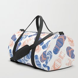 Blue Flip Flops Duffle Bag