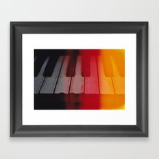 keys keys keys Framed Art Print