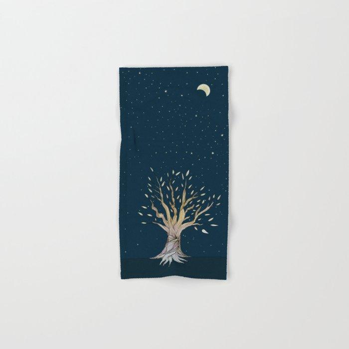 Moonlit Tree Hand & Bath Towel