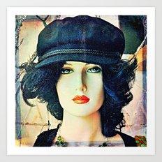 Get The Cool Chapeau Art Print