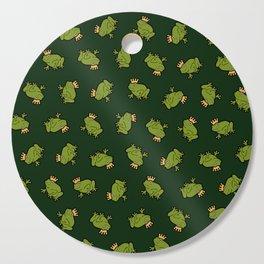 Frog Prince Pattern Cutting Board