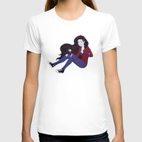 marceline T-shirts featuring Marceline by ribkaDory