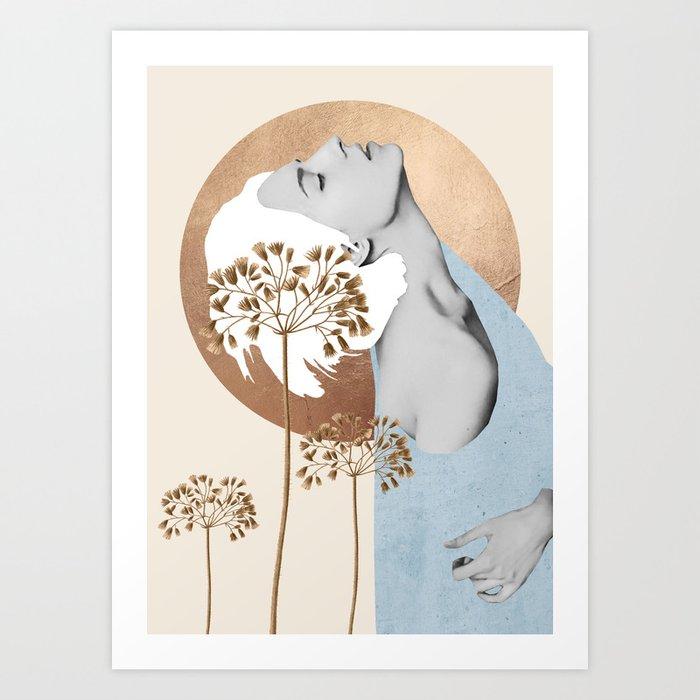 Gentle Beauty 8 Art Print