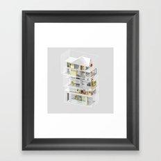 Mumbai/Toronto 1/2 Framed Art Print