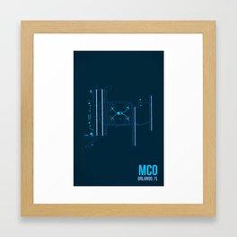 MCO Framed Art Print